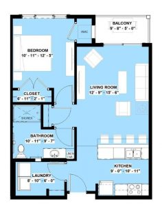 1 bed apartment in wright county mn